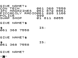 Control Technology 123.4.Phone Book image