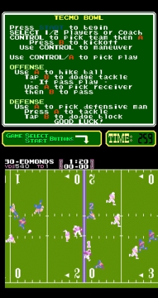 Tecmo Bowl (PlayChoice-10) image