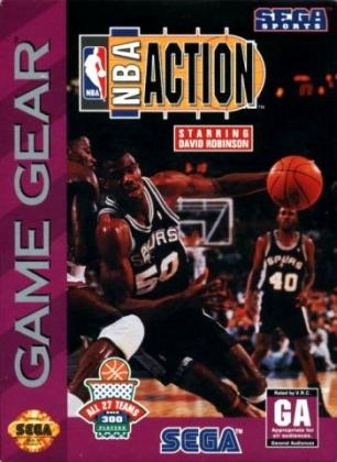 NBA ACTION STARRING DAVID ROBINSON [USA] image