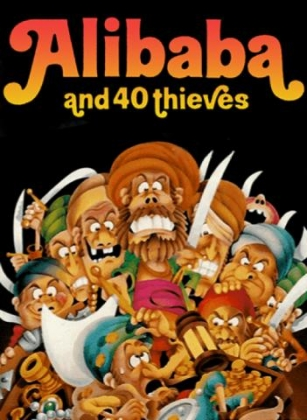 ALI BABA AND 40 THIEVES image