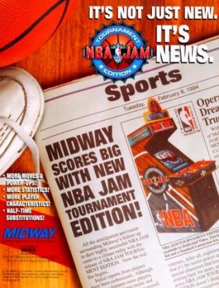 NBA JAM TOURNAMENT EDITION image