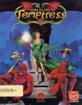 LURE OF THE TEMPTRESS image