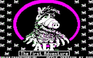 Alf, The First Adventure  image