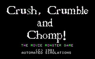Crush - Crumble And Chomp!  image