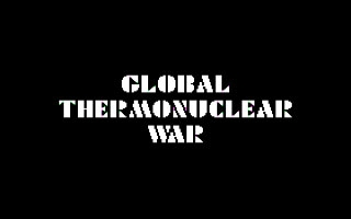 Global Thermonuclear War  image
